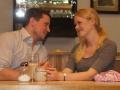 wenn de Lisa verliebt is, verwechselts an Kaffe mit Bier